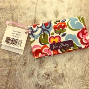 NWT Vera Bradley Card Holder